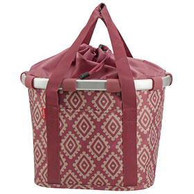 KlickFix Reisenthel Fietsmand, diamonds rouge